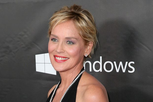 HOLLYWOOD, CA - OCTOBER 29: amfAR Global Fundraising Chairman Sharon Stone attends amfAR LA Inspiration Gala honoring Tom Ford at Milk Studios on October 29, 2014 in Hollywood, California. (Photo by Jonathan Leibson/Getty Images for FIJI)